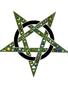 Esotericism - wiccan symbol